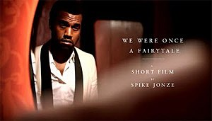 We Were Once a Fairytale - Image: Kanye West Fairytale film