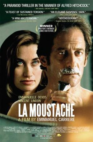 La Moustache - The official theatrical poster from The Cinema Guild