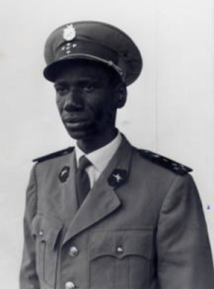 Lansana Diané general and a minister