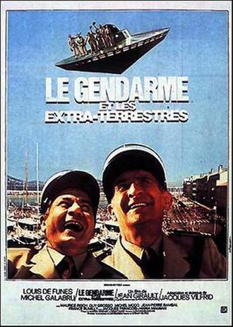 The Gendarme and the Extra-Terrestrials - Image: Le gendarme et les extra terrestres
