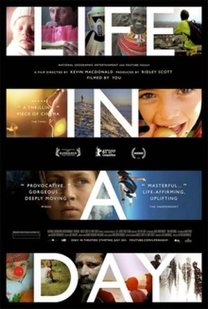 Life in a Day (2011 film) - Theatrical release poster