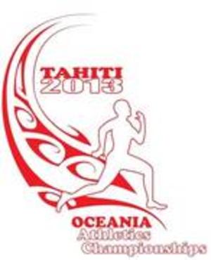 2013 Oceania Athletics Championships - Image: Logo of the 2013 Oceania Athletics Championships