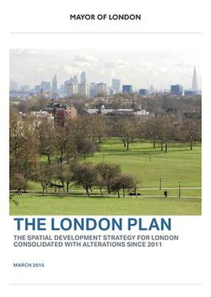 London Plan - Cover of the current London Plan