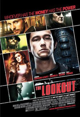The Lookout (2007 film) - Promotional movie poster for the film