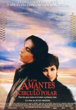 Lovers of the Arctic Circle - Poster for Los amantes del círculo polar
