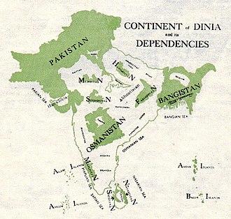 Choudhry Rahmat Ali - The Continent of DINIA by Choudhry Rahmat Ali, M.A., L.L.B., Barrister-at-Law
