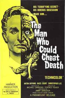 Learn and talk about The Man Who Could Cheat Death, 1950s fantasy