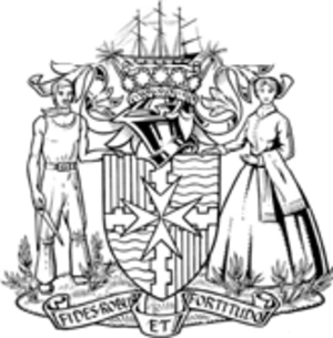 City of Maryborough (Queensland) - Coat of arms of the City of Maryborough.