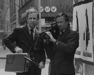 Albert and David Maysles American brothers documentary filmmaker duo