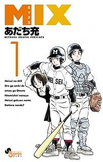 <i>Mix</i> (manga) Japanese manga and anime series