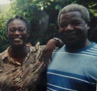 Roger Kwami Zinga - Image: Monique Mbeka Phoba and Roger Kwami