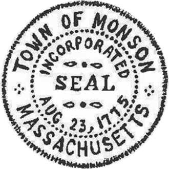 Monson, Massachusetts - Image: Monson MA seal