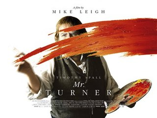 <i>Mr. Turner</i> 2014 film directed by Mike Leigh
