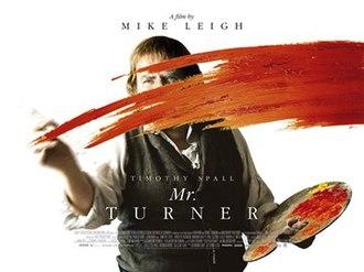 Mr. Turner - Theatrical film poster