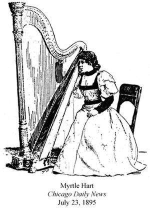 Henry Hart (musician) - Image: Myrtle Hart 1895