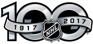 2016–17 NHL season - The NHL's centennial logo
