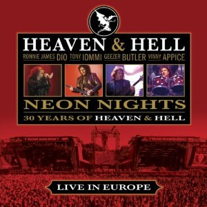 Neon Nights: 30 Years of Heaven & Hell - Image: Neon Nights C Dcover