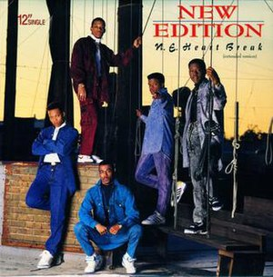 N.E. Heart Break (song) - Image: New Edition N.E. Heartbreak Cover