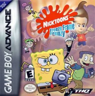 Nicktoons: Freeze Frame Frenzy - North American cover art