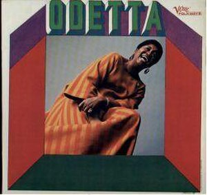Odetta (1967 album) - Image: Odetta (Verve Folkways album) cover small
