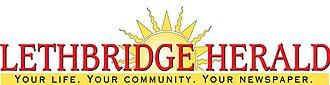 Lethbridge Herald - Logo until 2008