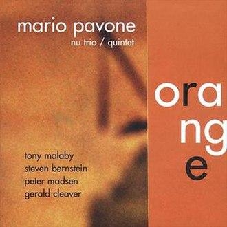 Orange (Mario Pavone album) - Image: Orange (Mario Pavone album)