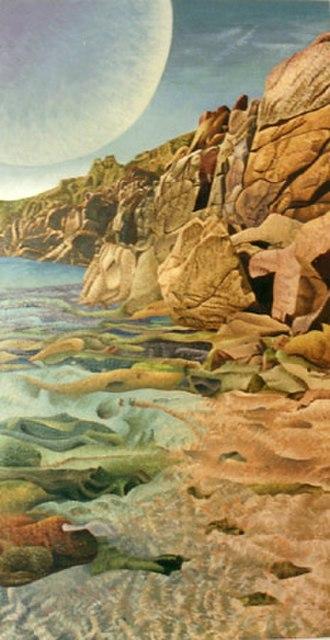 Stuckism in Australia - Over the ocean by Godfrey Blow