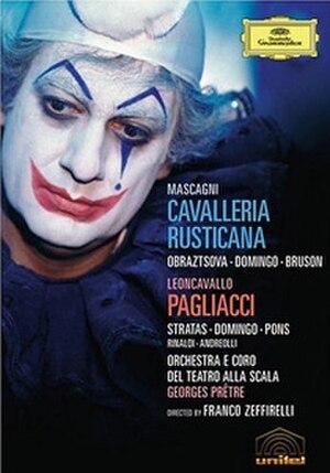 Pagliacci (1982 film) - Plácido Domingo as Canio in Pagliacci (1982), released on DVD by Deutsche Grammophon