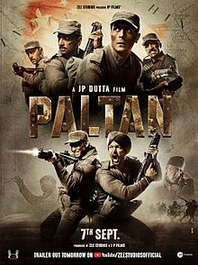 Paltan (2018) Hindi 720p 1.4GB WEB-Rip AAC MKV