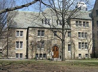 Pontifical Institute of Mediaeval Studies - Main building at St Michael's College