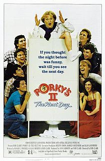 <i>Porkys II: The Next Day</i> 1983 film by Bob Clark