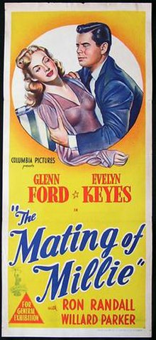 Poster of the movie The Mating of Millie.jpg