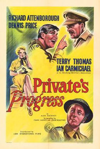 Private's Progress - Original UK cinema poster