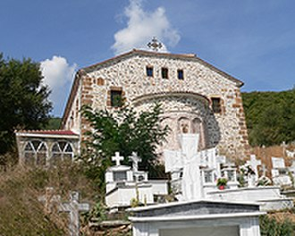 Proti, Florina - Image: Proti Cemetary 1