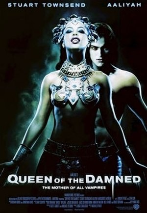 Queen of the Damned - Theatrical release poster