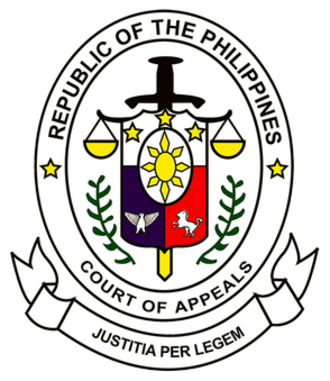 Court of Appeals of the Philippines - Seal of the Court of Appeals of the Philippines