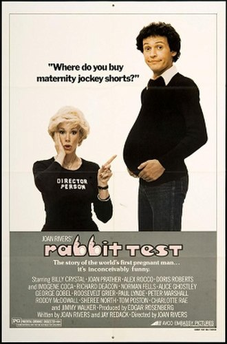 Rabbit Test (film) - Theatrical release poster