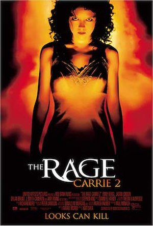 The Rage: Carrie 2 - Theatrical release poster