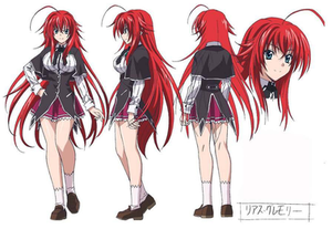 highschool dxd rias hot