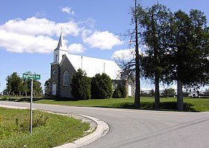 Drummond/North Elmsley - St. Augustine's Anglican Church in Richardson.