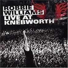 Robbie Williams - Live à Knebworth - couverture de l'album CD.jpg