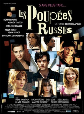Russian Dolls (film) - Promotional film poster (in French)