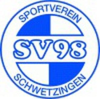 SV 98 Schwetzingen - Image: SV Schwetzingen
