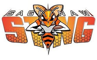 Saginaw Sting - Image: Saginaw Sting 2015