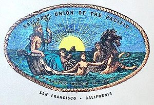 Sailors' Union of the Pacific - Image: Sailors' Union of the Pacific logo