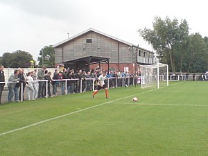 Worksop Town F.C. - Image: Sandy Lane Worksop 4