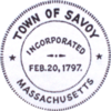 Official seal of Savoy, Massachusetts