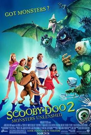 Scooby-Doo 2: Monsters Unleashed - Theatrical release poster