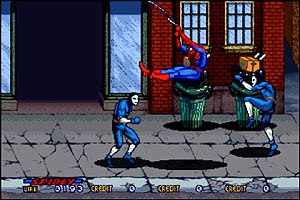 Spider-Man: The Video Game - Screenshot of gameplay.
