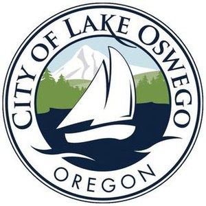 Official seal of Lake Oswego, Oregon